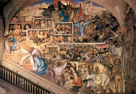 Social realism artissima blog of artifactory studio for Diego rivera mural 1929